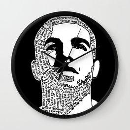 Weekend Drake Wall Clock