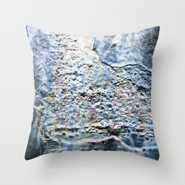 Oil Slick Throw Pillow
