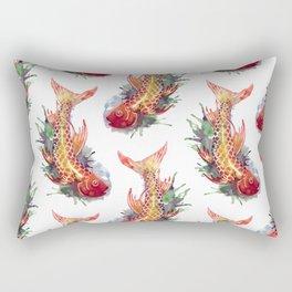 Fish Splash Rectangular Pillow