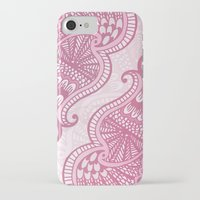 henna iPhone & iPod Cases featuring Henna Pattern by ItsJessica