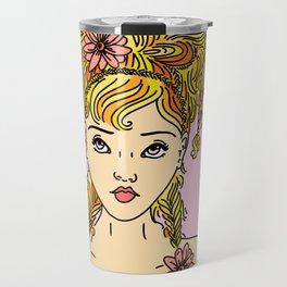 Flower Girl II Travel Mug
