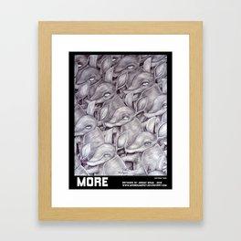 MORE Framed Art Print