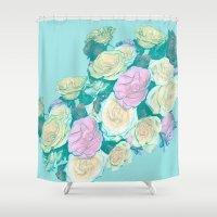 faith Shower Curtains featuring Faith by fauzita
