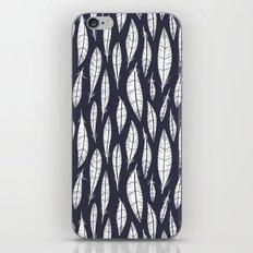 Quail Feathers (Midnight) iPhone & iPod Skin
