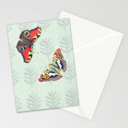 Summer's sojourn with butterflies Stationery Cards