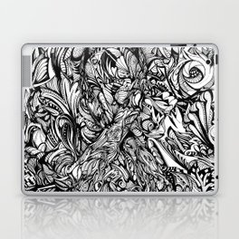 Conquer (Black & White Version)  Laptop & iPad Skin