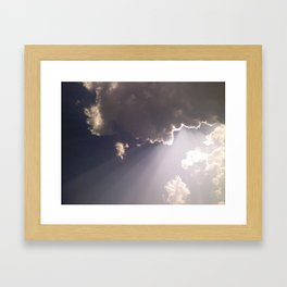 Heaven Above Framed Art Print