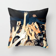 Stage Diving Throw Pillow