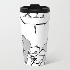 minima - slowbot 006 (clock) Metal Travel Mug