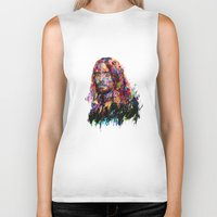 jared leto Biker Tanks featuring Jared Leto by ururuty
