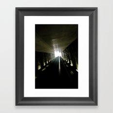 Ligth Games II Framed Art Print