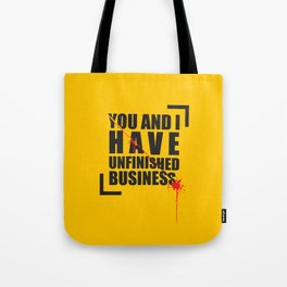 Kill Bill Minimal Poster 2.0 Tote Bag