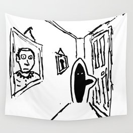 Shadow Person Wall Tapestry