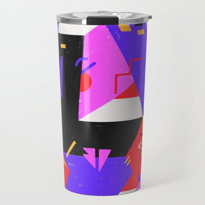 Multi-dimensional city Travel Mug