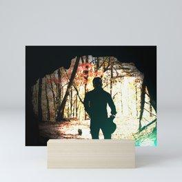 Donnie, Cave Portrait Mini Art Print
