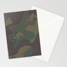 Camouflage Year of Horse Stationery Cards