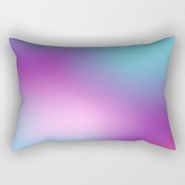 ABSTRACT GRADIENT BLURRY COLORFUL Rectangular Pillow