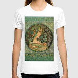 "Alphonse Mucha ""Ivy"" T-shirt"