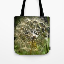 Tragopogon Wildflower Salsify Tote Bag