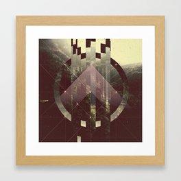 FAGMENTED SOUL Framed Art Print