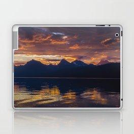 Sunrise Glacier National Park - Lake McDonald Laptop & iPad Skin