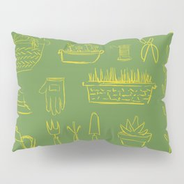 Gardening and Farming! - illustration pattern Pillow Sham