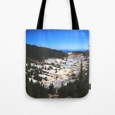 Bumpass Hell Pass Lassen Volcanic National Park Tote Bag