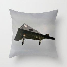 Nighthawk Nightmare Throw Pillow