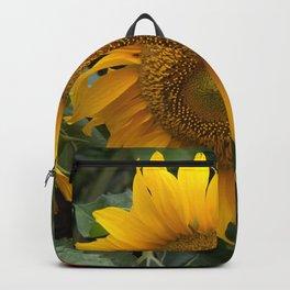 Bright Sunny Sunflower Backpack