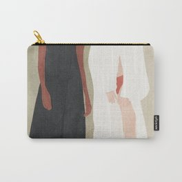 Two Flowing Models Carry-All Pouch