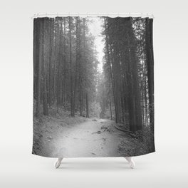 The Lonely Trail Shower Curtain