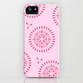Uteri, Period. In pink iPhone Case