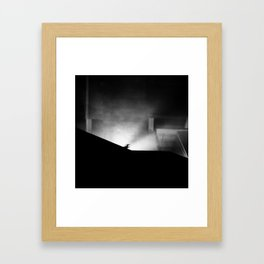 Not Even Nothing Can Be Free of Ghosts. Framed Art Print