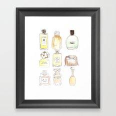 Parfums Framed Art Print