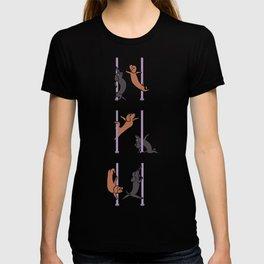 Dachshund Pole Dancing Club T-shirt