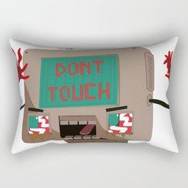 Don't Touch Rectangular Pillow