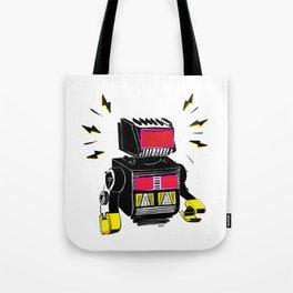 Le Robot Tote Bag