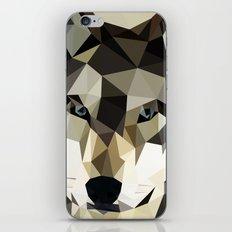 triangulation wolf iPhone & iPod Skin