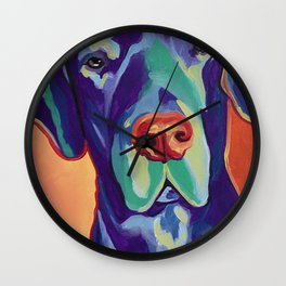 Gus the Great Dane Wall Clock