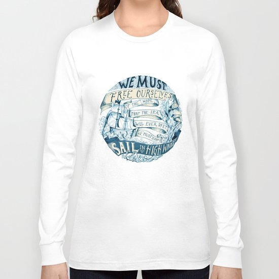 Learn to Sail Long Sleeve T-shirt
