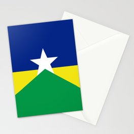 Flag of Rondonia Stationery Cards