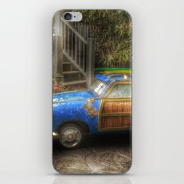 Off to Fulfill a Surfing Dream iPhone Skin