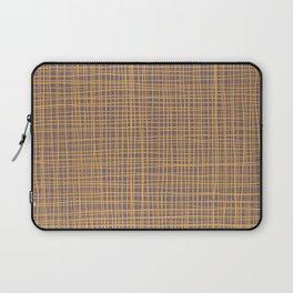 Purple and Gold VI Thread pattern Laptop Sleeve