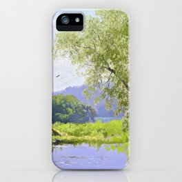Old mill - Hermann Ottomar Herzog iPhone Case