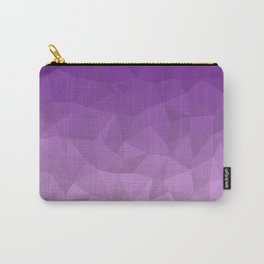 Purple Ombre - Flipped Carry-All Pouch