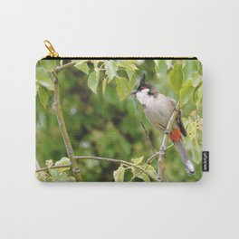 Red-Whiskered Bulbul -- 2 Carry-All Pouch