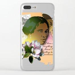 Madame CJ Walker Clear iPhone Case