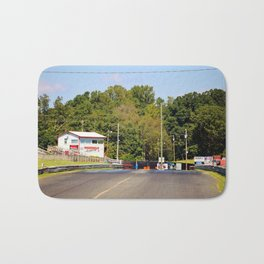 Eighth-Mile Track Bath Mat