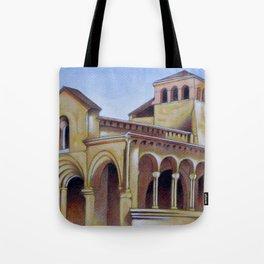 Postcard from Iglesia de la Trinidad, Segovia, Spain Tote Bag