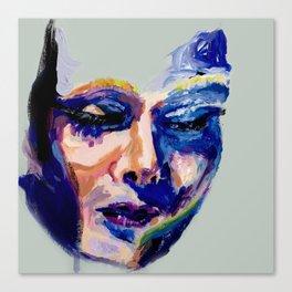 Face in Acrylic Canvas Print
